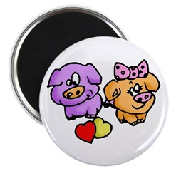 Pigs In Love Magnet