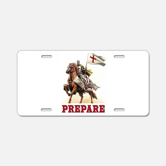 CRUSADERS Aluminum License Plate
