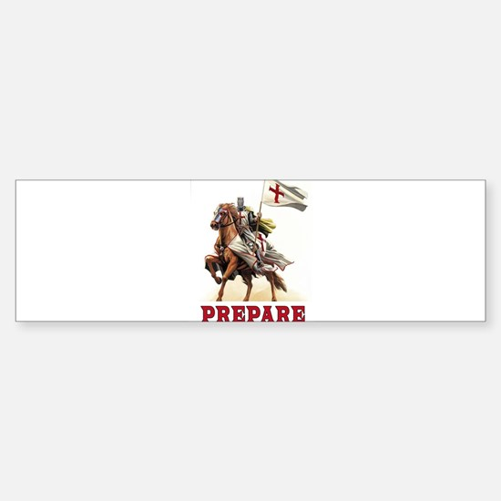 CRUSADERS Bumper Bumper Bumper Sticker