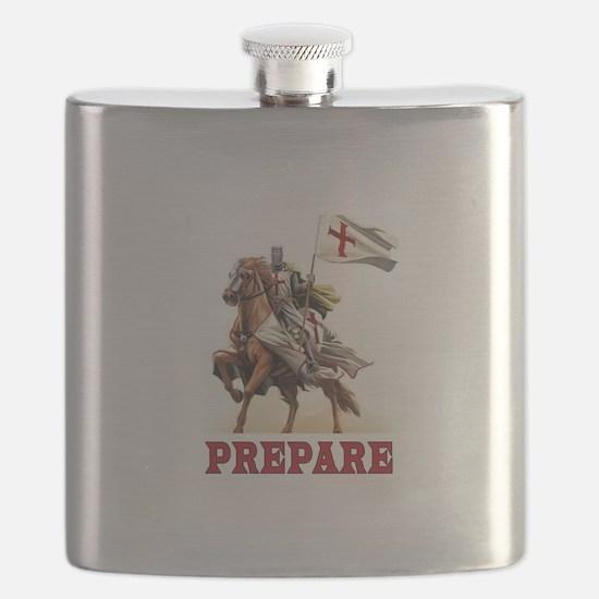 CRUSADERS Flask