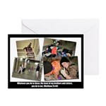 Whatever you do.. Abu Ghraib / Iraq  Greeting Card