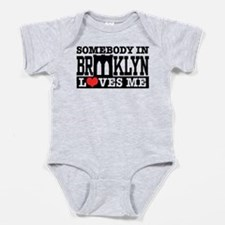 Cool Brooklyn nyc Baby Bodysuit