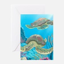 Sea Turtle Greeting Cards