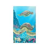 Cute sea turtles 3x5 3x5 Rugs