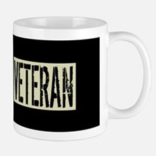 Canadian Military Veteran: Black Deploy Mug