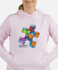 puzzle-v2-5colors.png Women's Hooded Sweatshirt
