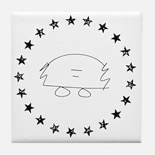 Funny Bern Tile Coaster