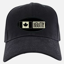 Canadian Military: Infantry (Black Flag) Baseball Hat