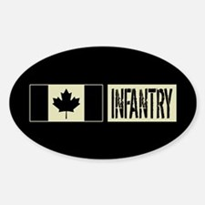 Canadian Military: Infantry (Black Decal