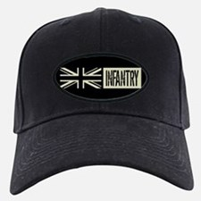 British Military: Infantry (Black Flag) Baseball Cap