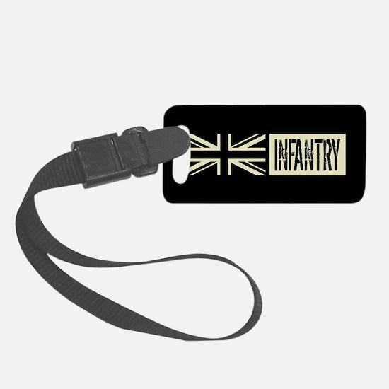 British Military: Infantry (Blac Luggage Tag