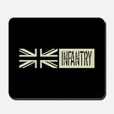 British Military: Infantry (Black Flag) Mousepad