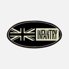 British Military: Infantry (Black Flag) Patch
