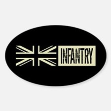 British Military: Infantry (Black F Decal