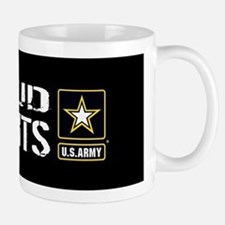 U.S. Army: Proud Parents (Black) Small Small Mug