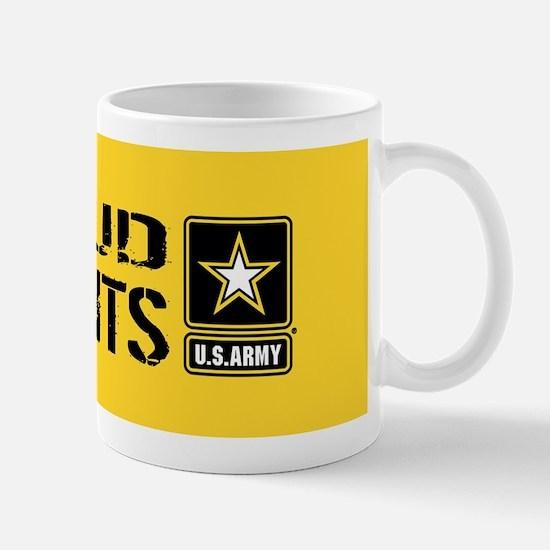 U.S. Army: Proud Parents (Gold) Mug