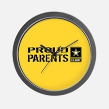U.S. Army: Proud Parents (Gold) Wall Clock