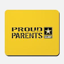 U.S. Army: Proud Parents (Gold) Mousepad
