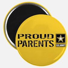 """U.S. Army: Proud Parents (G 2.25"""" Magnet (10 pack)"""
