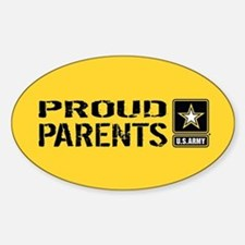 U.S. Army: Proud Parents (Gold) Decal