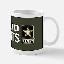 U.S. Army: Proud Parents (Military Gree Mug