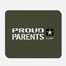 U.S. Army: Proud Parents (Military Green Mousepad