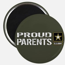 U.S. Army: Proud Parents (Military Green) Magnet