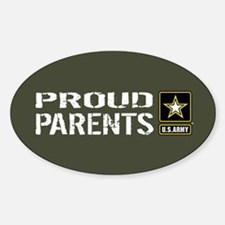 U.S. Army: Proud Parents (Military Decal