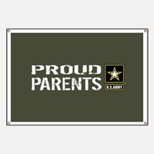 U.S. Army: Proud Parents (Military Green) Banner