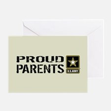 U.S. Army: Proud Parents (Sand) Greeting Card