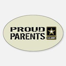 U.S. Army: Proud Parents (Sand) Decal