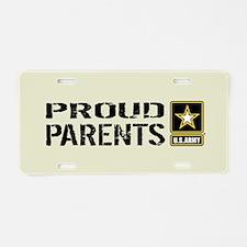 U.S. Army: Proud Parents (S Aluminum License Plate