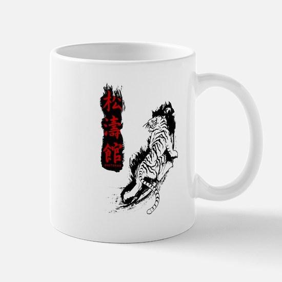 Shotokan Kanji Tiger Mugs