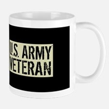 U.S. Army: Veteran (Black Flag) Mug