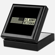 U.S. Army: Veteran (Black Flag) Keepsake Box