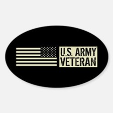 U.S. Army: Veteran (Black Flag) Decal
