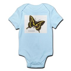 Giant Swallowtail Butterfly Infant Creeper