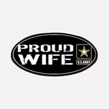 U.S. Army: Proud Wife (Black & Gold) Patch