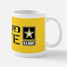 U.S. Army: Proud Wife (Gold) Small Small Mug
