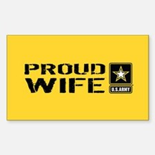 U.S. Army: Proud Wife (G Decal