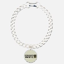 U.S. Army: Proud Wife (S Bracelet