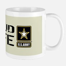U.S. Army: Proud Wife (Sand) Mug
