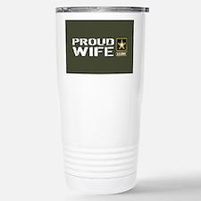U.S. Army: Proud Wife ( Travel Mug