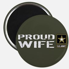 "U.S. Army: Proud Wife (Mili 2.25"" Magnet (10 pack)"