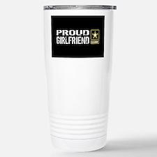 U.S. Army: Proud Girlfr Stainless Steel Travel Mug