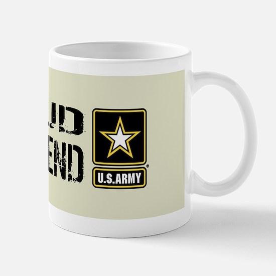 U.S. Army: Proud Girlfriend (Sand) Mug