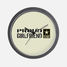 U.S. Army: Proud Girlfriend (Sand) Wall Clock