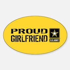 U.S. Army: Proud Girlfriend (Gold & Decal