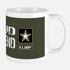U.S. Army: Proud Girlfriend (Military G Mug