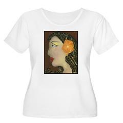 Lolita Women's Plus Size Scoop Neck T-Shirt